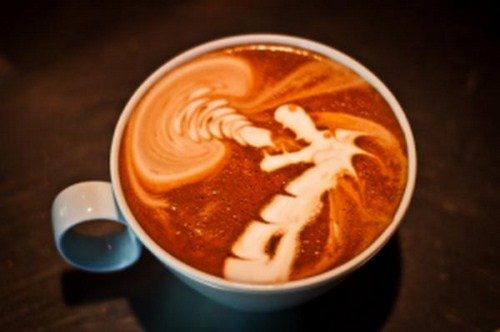 Incredible Creative Art in a Cup Of Coffee Images Seen On www.coolpicturegallery.us