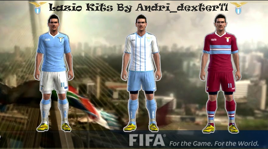 PES 2013 Lazio 14-15 Kits By Andri_dexter11