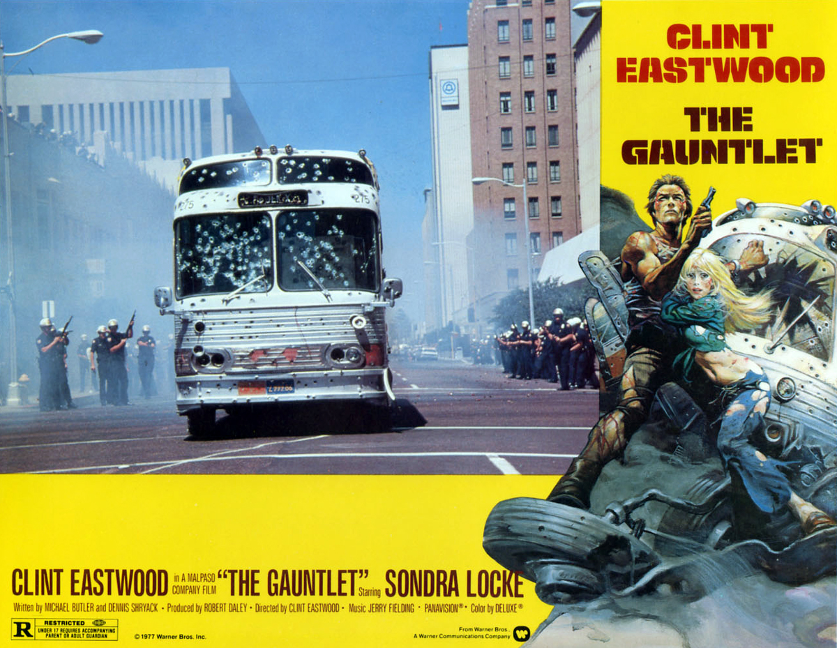 history adventuring the gauntlet clint eastwood in