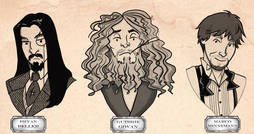 The Aristocrats - la nueva banda del mesias Guthrie Govan