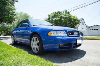 Series B5 Audi S4 Blue