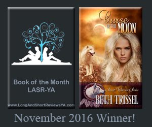 Curse of the Moon Won Book of the Month at Long and Short Reviews--YA!