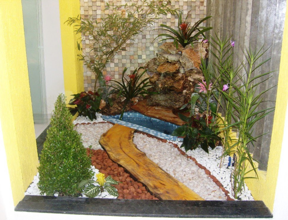 Oficina das plantas cascatas e jardins de inverno for 5 jardins de lucie