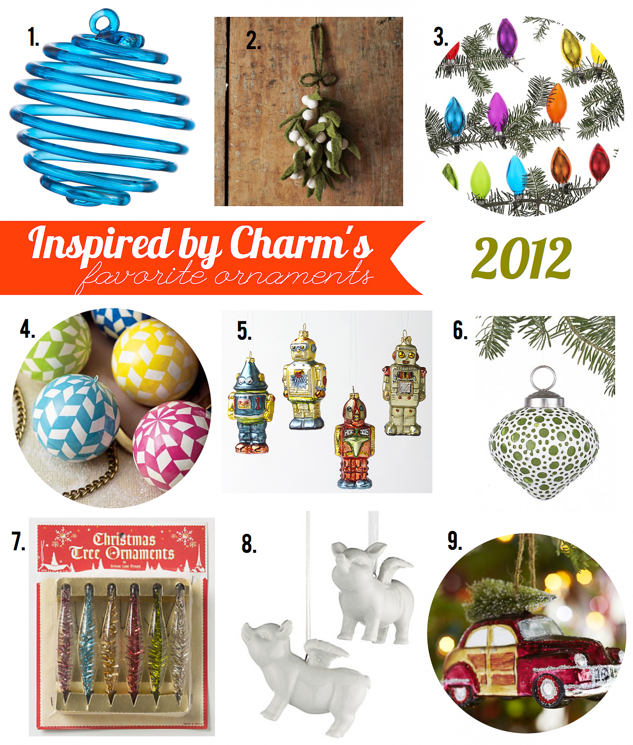 IBC\'s Favorite Ornaments 2012 // $50 Starbucks Giveaway