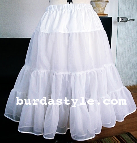Free 1950's Sewing - Petticoat