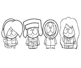 #1 Kenny McCormick Coloring Page
