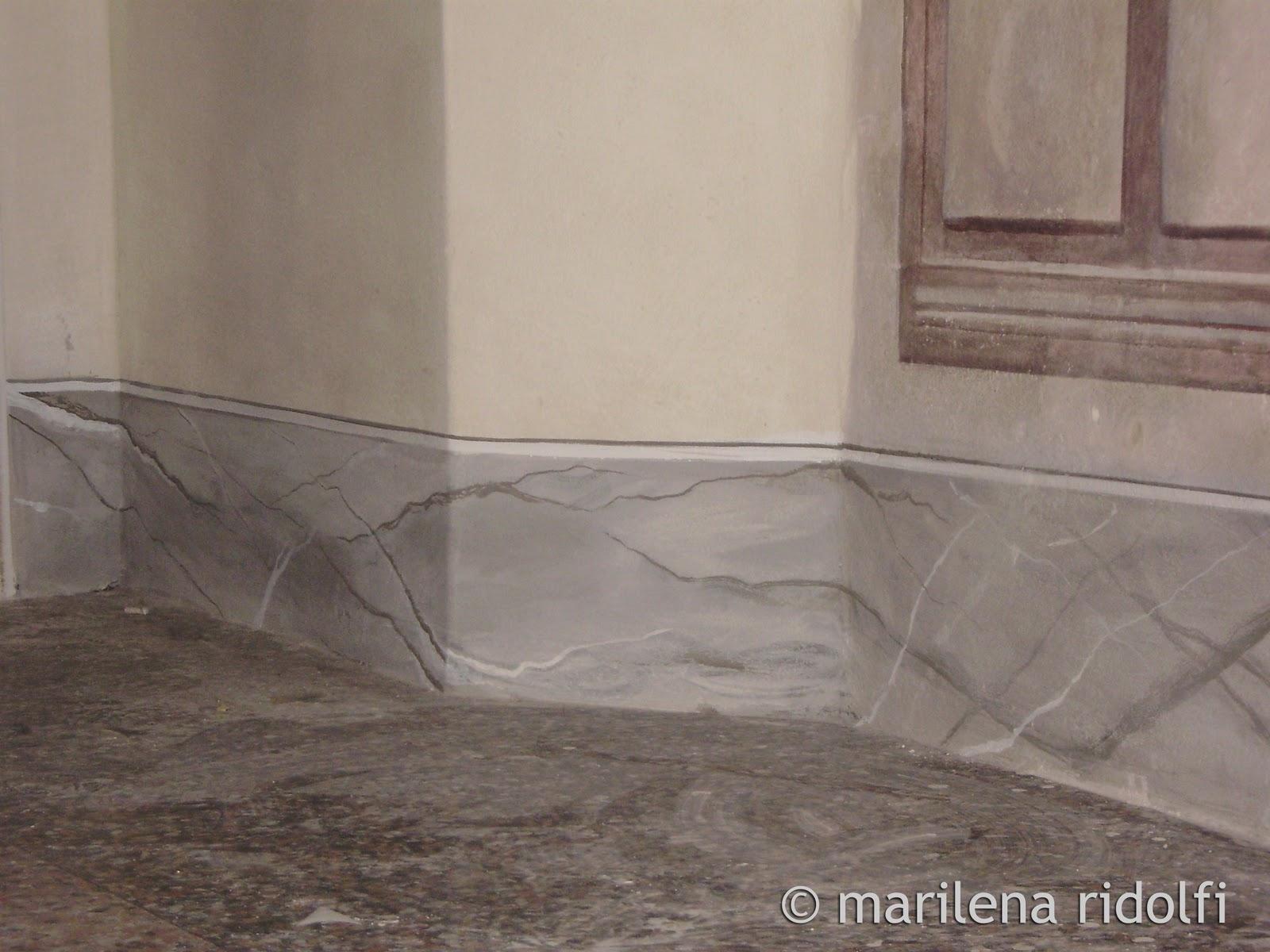 decorazioni e restauro finto marmo
