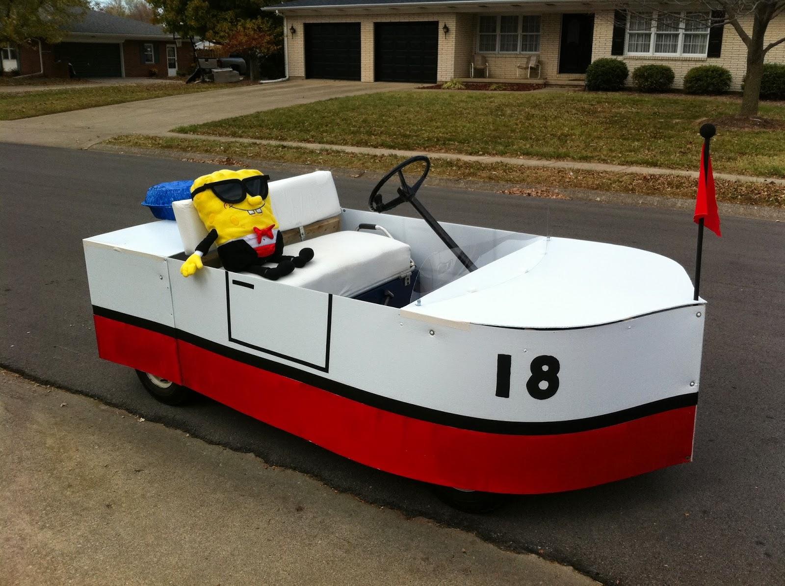 Boat Car Spongebob