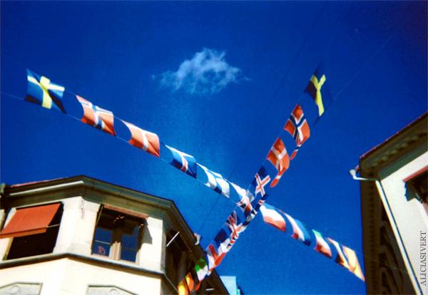 aliciasivert, alicia sivertsson, gothenburg, göteborg, bruce springsteen concert, analog, engångskamera, konsert, vimplar, flaggor, flags