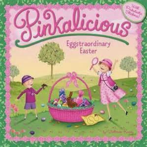 http://www.amazon.com/Pinkalicious-Eggstraordinary-Easter-Victoria-Kann/dp/0062187724/ref=sr_1_2?ie=UTF8&qid=1428265209&sr=8-2&keywords=Pinkalicious