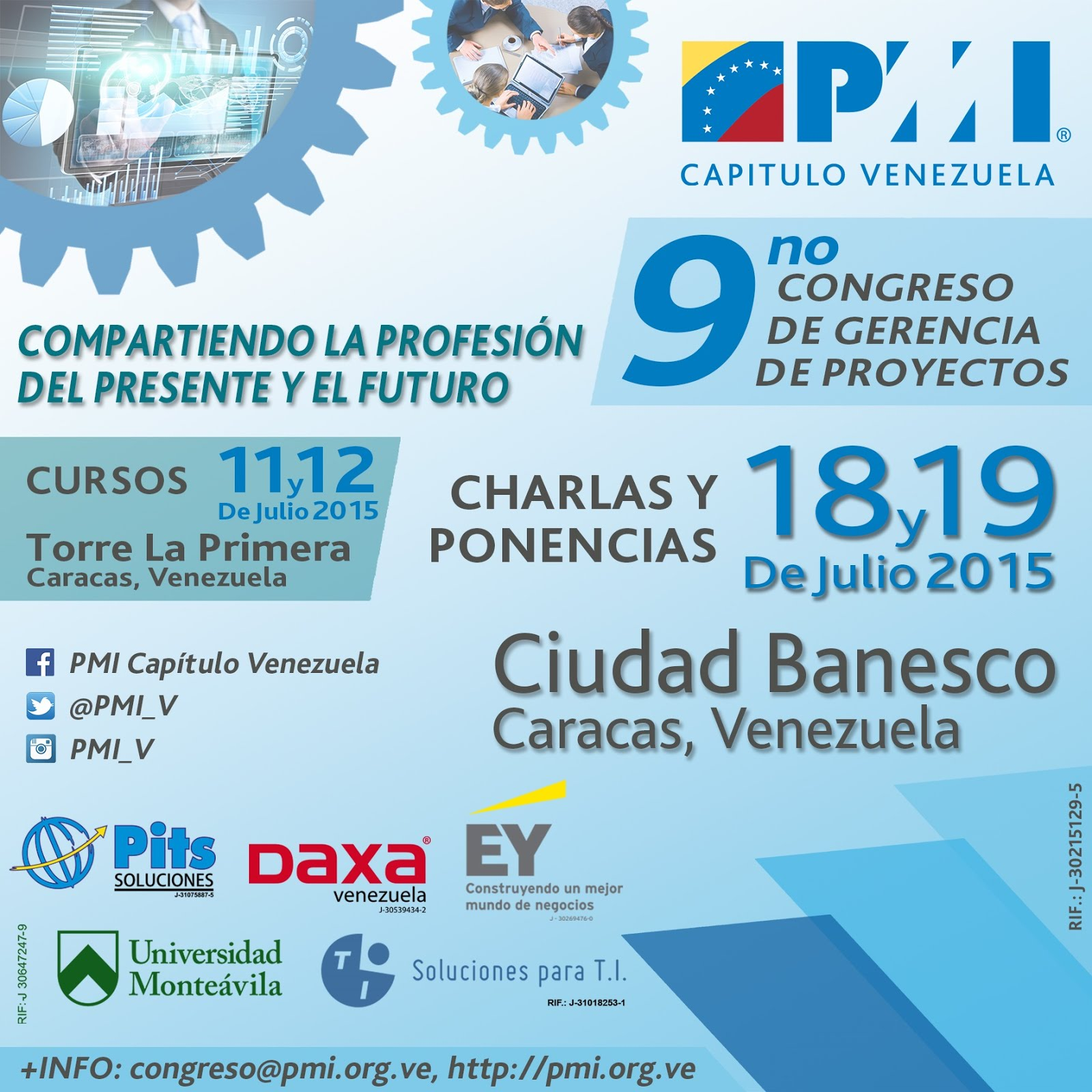9no Congreso de Gerencia de Proyectos