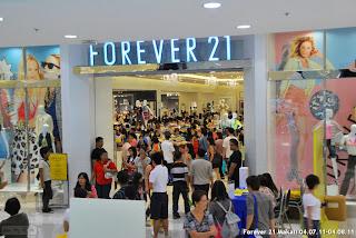 Forever 21 SM Makati Branch