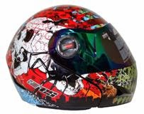 "Newly launched  ""ARES Flip up Helmet""."