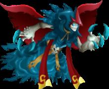 imagen del monster darkzgul de monster legends