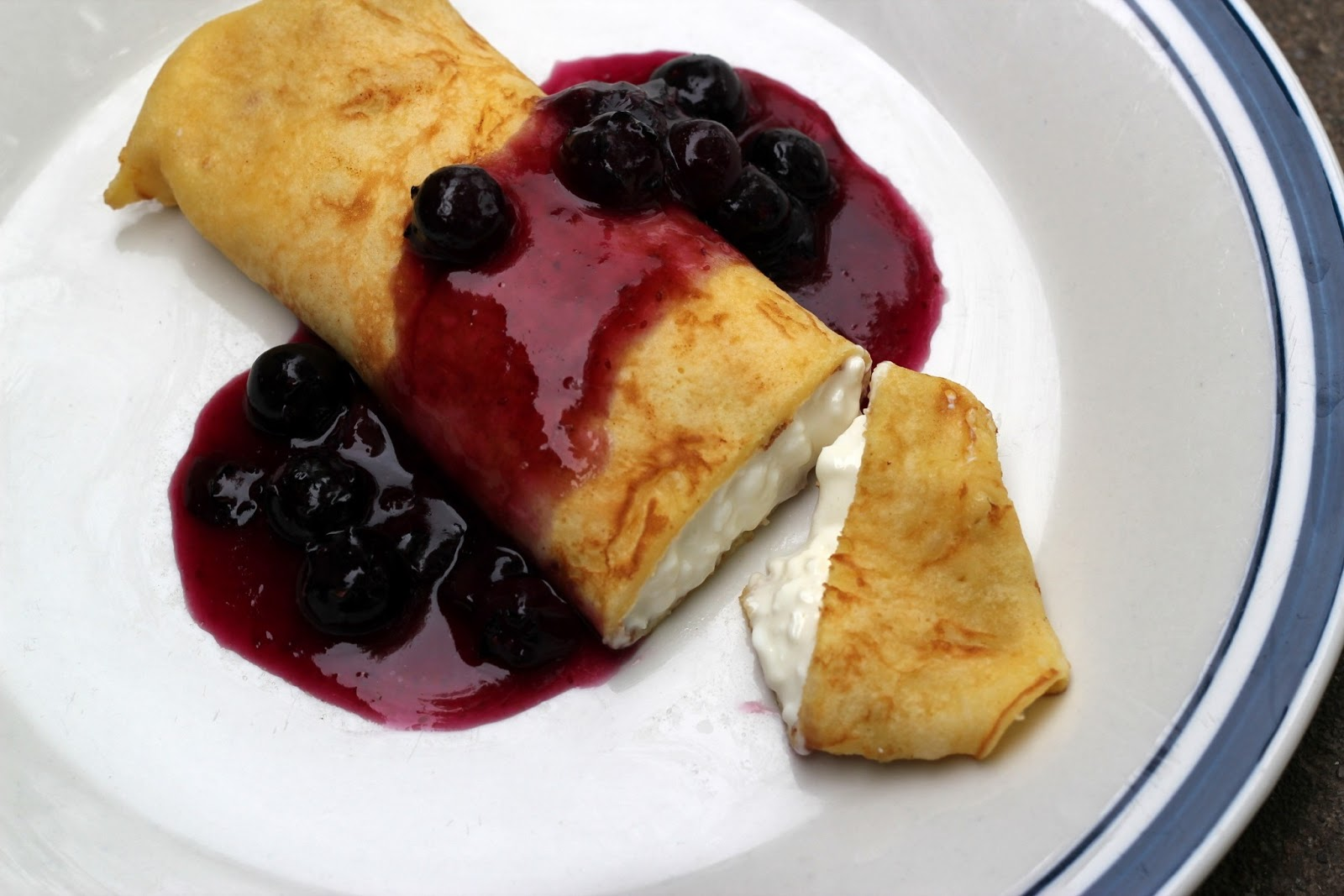 Blueberry Blintzes Recipes — Dishmaps