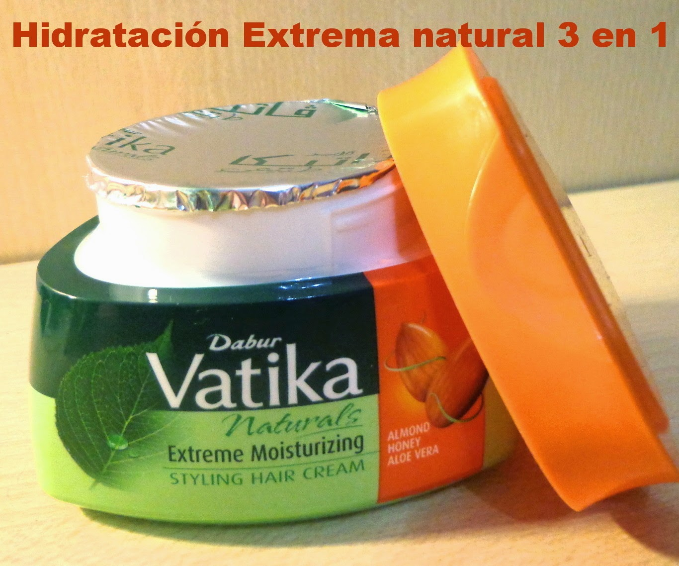 Cosmetica Oriental Luz MASCARILLAS VATIKA PELO