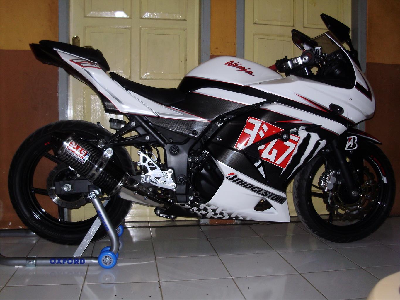 ide modifikasi motor ninja 250 cc 7