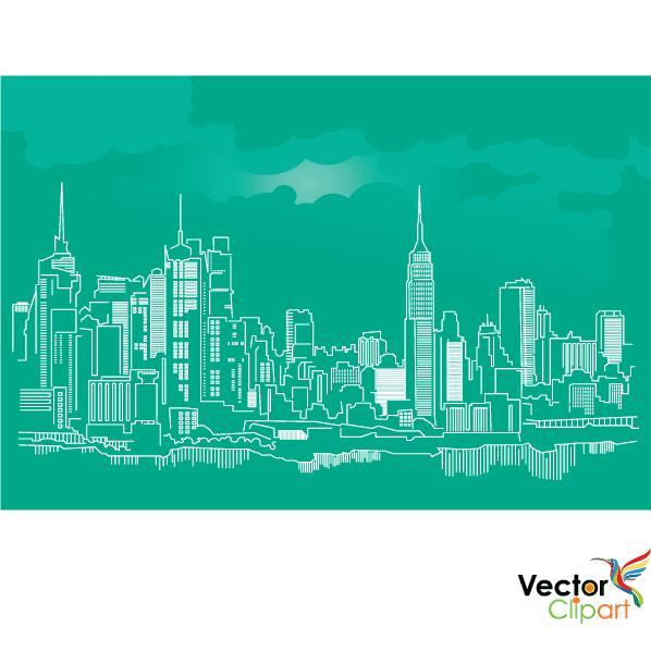 Ciudad de Nueva York - Vector