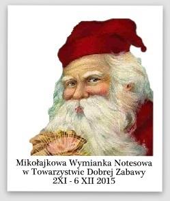 Notesowa Mikołajkowa wymianka;)