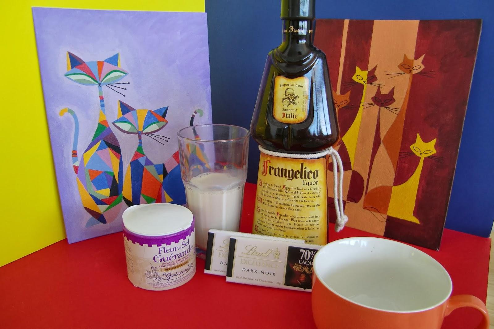 ... Adventures of Emerald Erin: Tipsy Tuesday: Hazelnut Dark Hot Chocolate