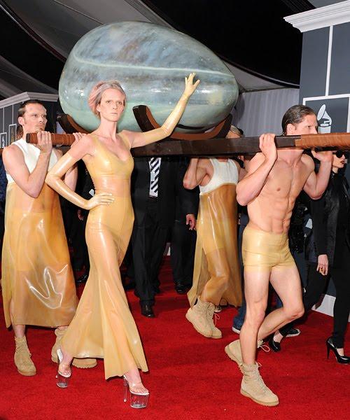 Lady GaGa in a EGG