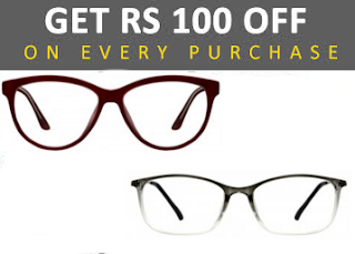Lensclues.com : Purchase of Eyewears And Get Extra Rs. 100 Off on evcery  Purchasing – Buytoearn