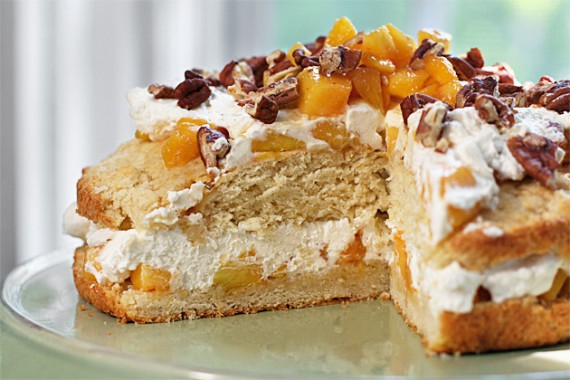 ... kinds of shortcakes such as this peach shortcake with toasted pecans