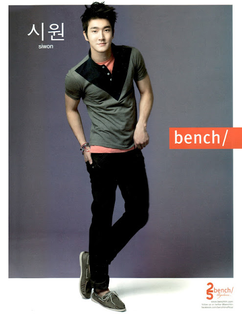 Siwon for Bench Spring-Summer 2012 Campaign