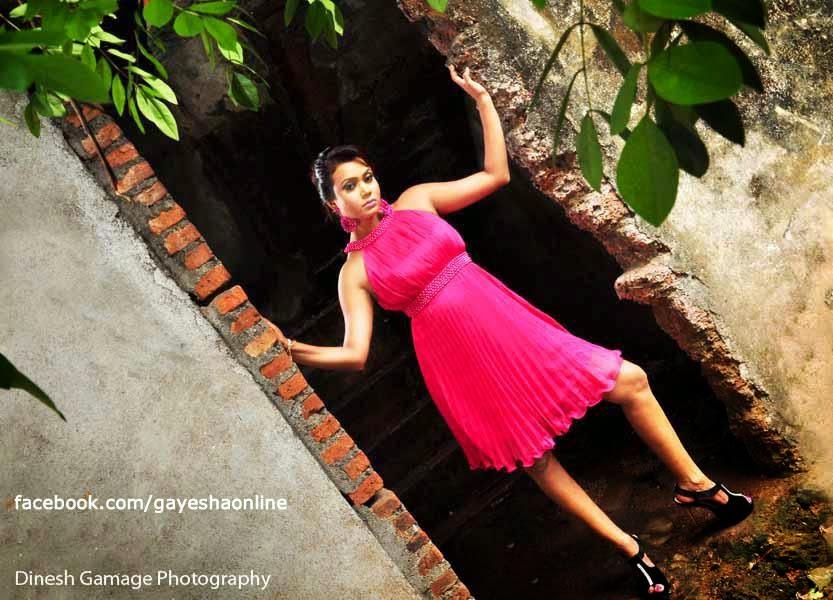 Gayesha Perera red legs