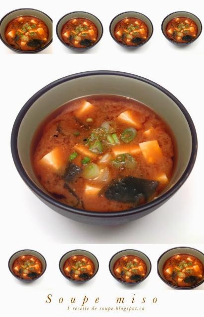 Soupe miso et dashi bouillon de poisson et d 39 algue for Aujourdhui je cuisine
