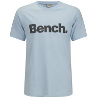 Camiseta Corporation Bench - Azul celestial