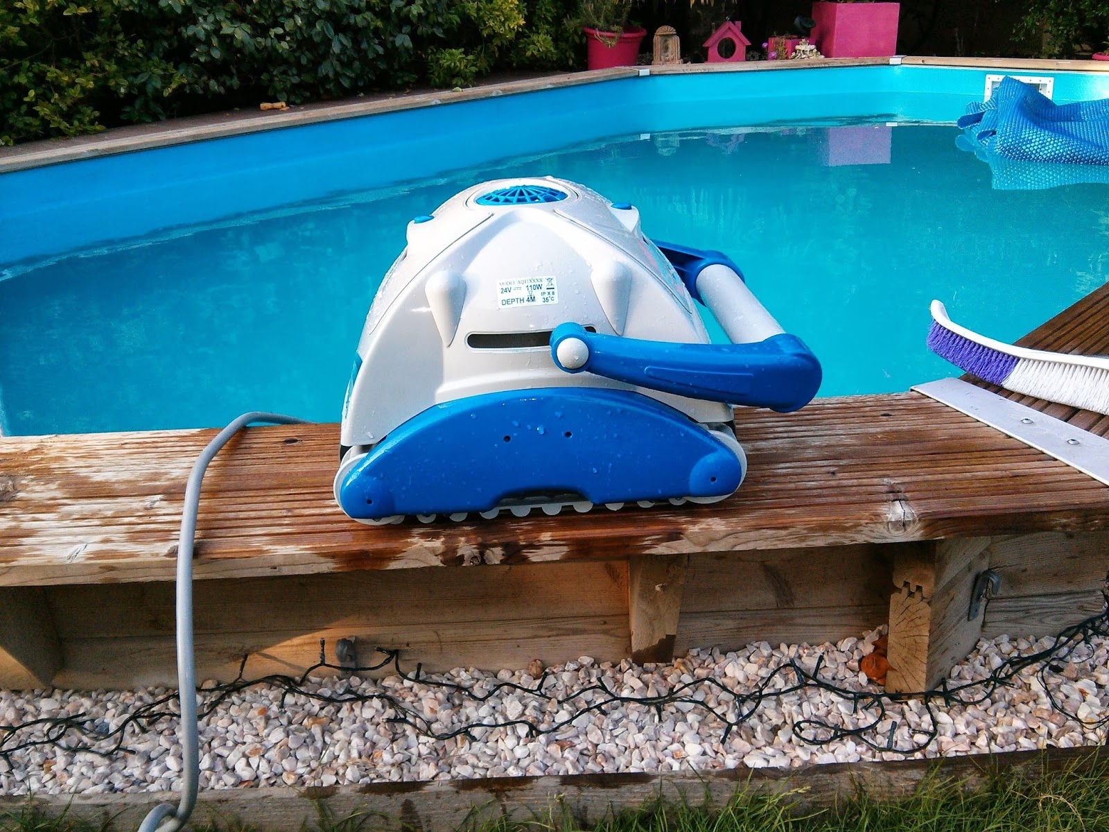 L 39 pop e de la piscine nouveaux tests for Irripool robot piscine