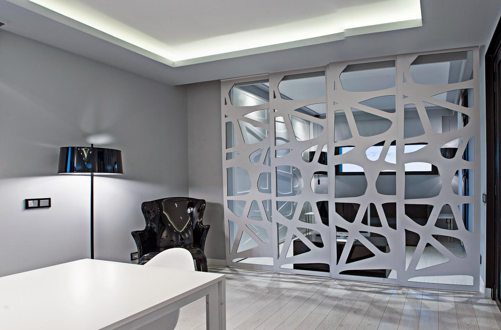 Puertas correderas separación interior loft Resan Modular