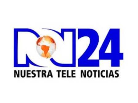 NTN 24 Tele Noticias 24 de Colombia.