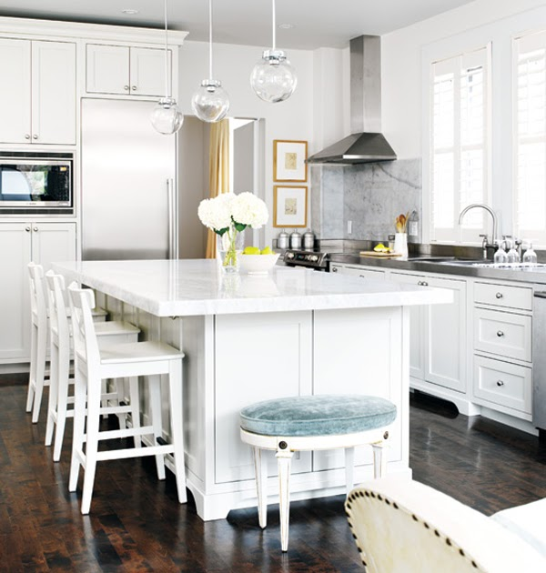 Kitchen Remodel Pictures With White Cabinets: Black*Eiffel: Another Gorgeous White Kitchen