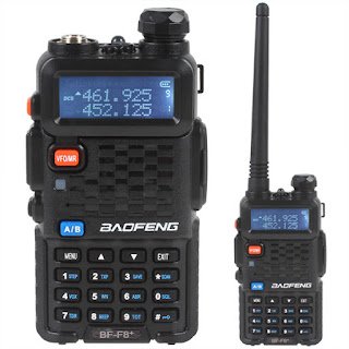 baofeng uv5r dual band two way radio black