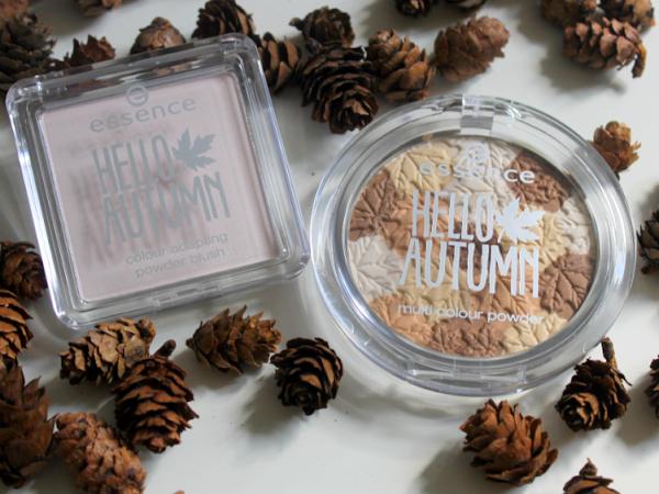 Essence Hello Autumn Colour Adapting Powder Blush & Multi Colour Powder.
