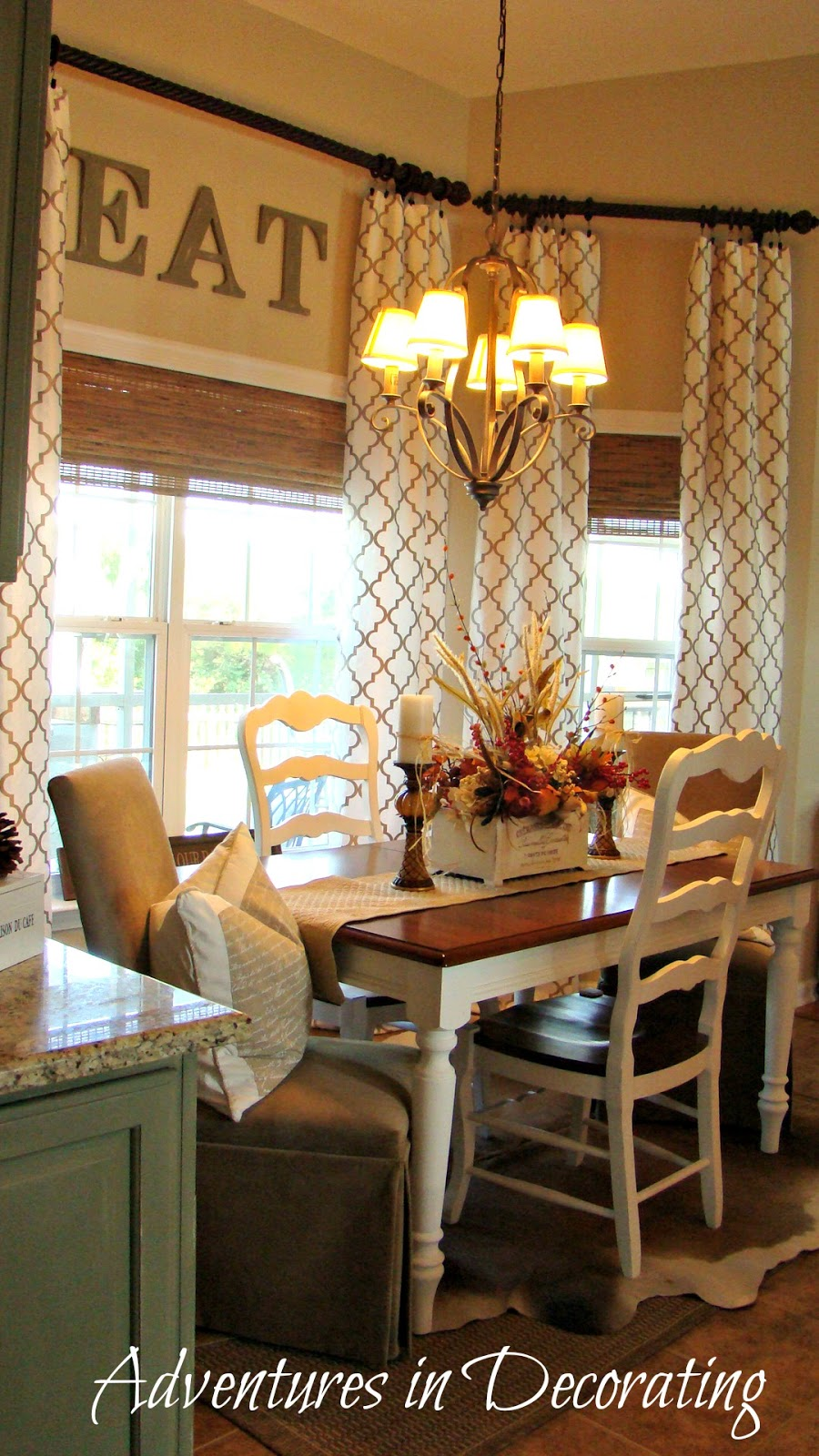 Long Curtains In Kitchen Savvy Southern Style My Favorite Roomadventures In Decorating