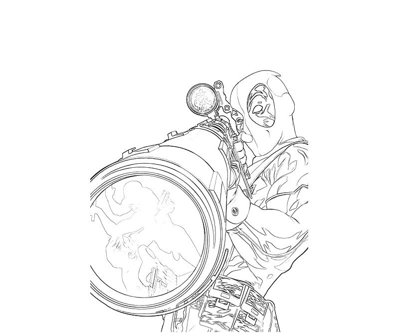sniper coloring pages - photo#10