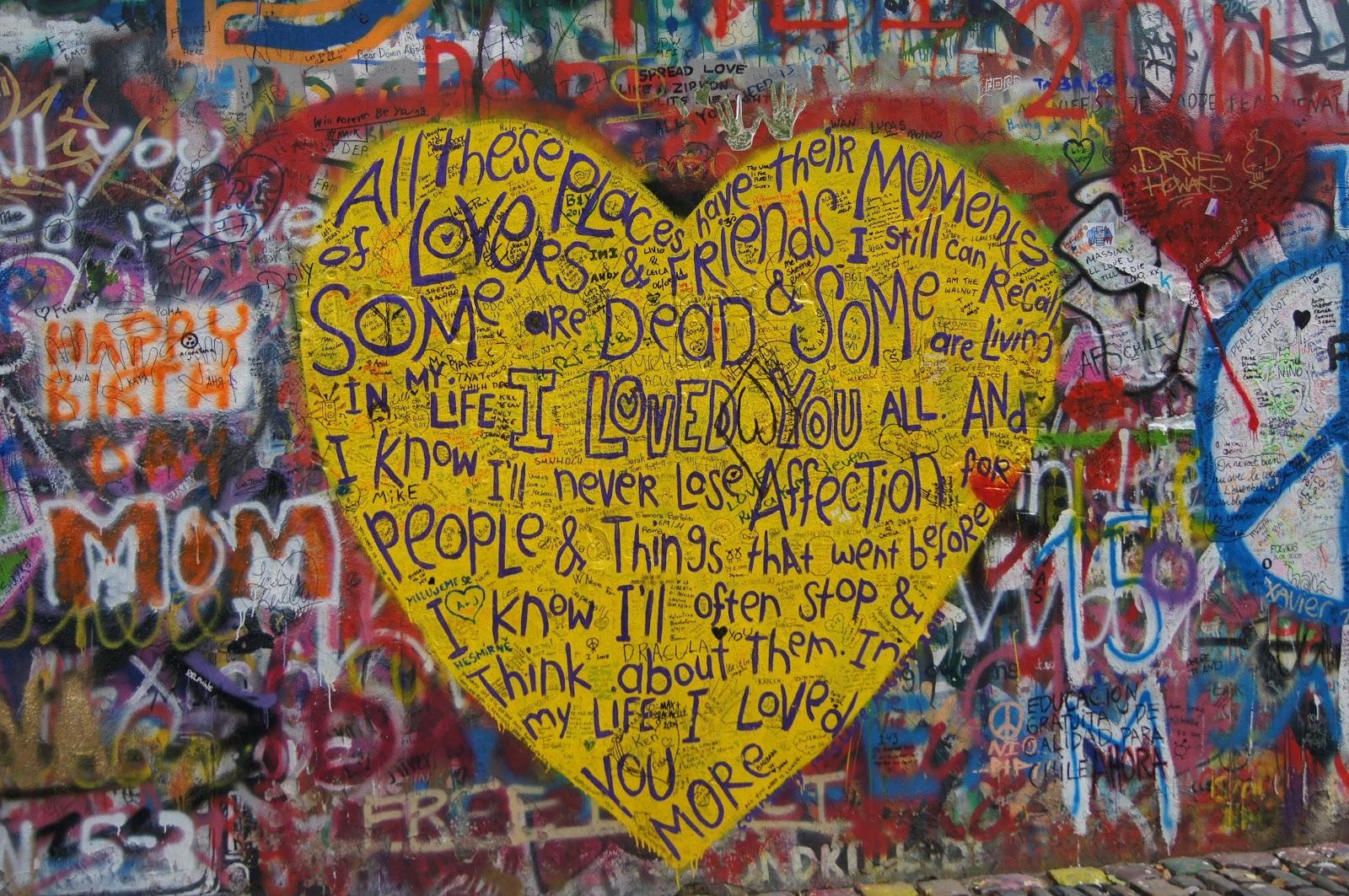 Mimi\'s Suitcase: John Lennon\'s Wall