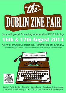 Dublin Zine Fair 2014