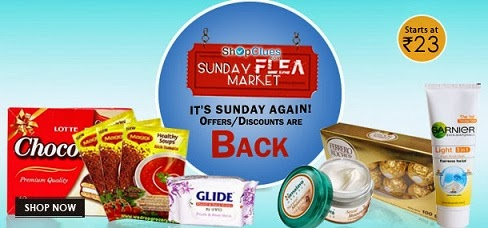 Shopclues Sunday Flea Market: Ankle Length Sports Socks Pack of 3 for Rs.97 | Maggi Rich Tomato Soup (Pack of 3 Pcs) for Rs.82 | Olay Total Effects 7 in one Day Cream for Rs.173 & more