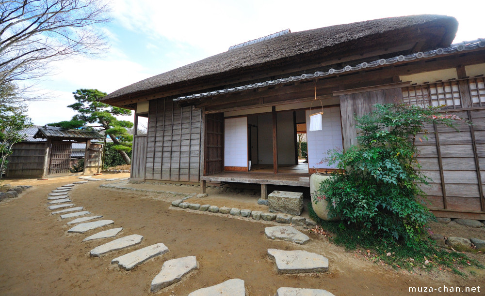 Gamer architect japanese samurai era village part 1 for Classic japanese house design