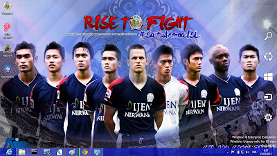 download gratis tema windows 7: Tema Arema Malang 2013
