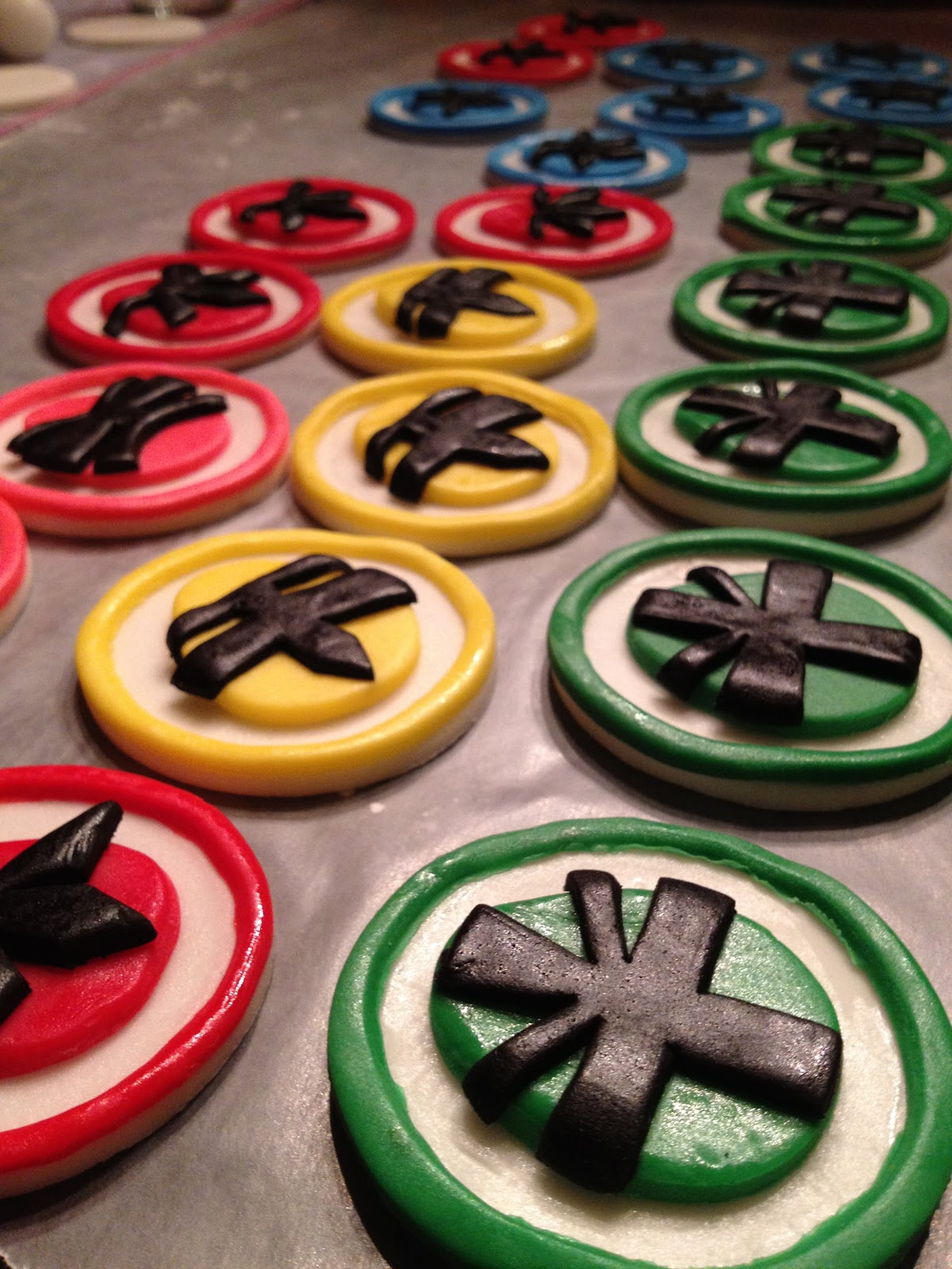 Crispy S Cakes Power Rangers Super Samurai