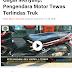 Gagal Salip, tersenggol angkot, pemotor tewas terlindas truk Kecelakaan di Banten