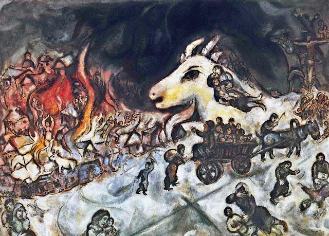 Guerra, Marc Chagall