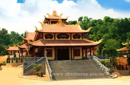 Cho thuê xe đi thiền viện Trúc Lâm Tây Thiên Vĩnh Phúc