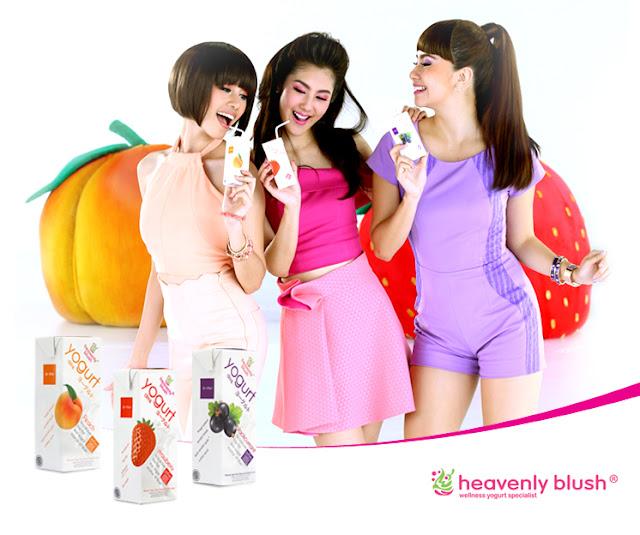 Dapatkan Manfaat Yoghurt pada Yoghurt Heavenly Blush