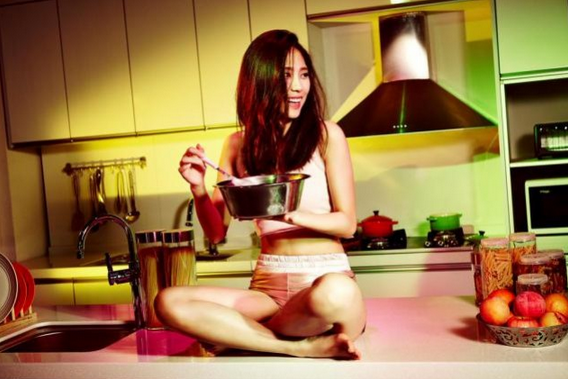 Fei Miss A Merilis Foto Cantik dan Seksi di Album   Colors